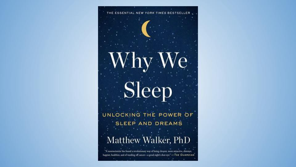 Why we sleep — Book Cover