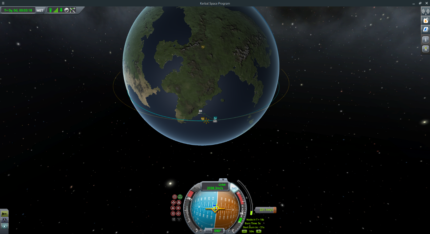 To the Mun & Back — Rocket Science w/ KSP (Part 1: Getting into Orbit)