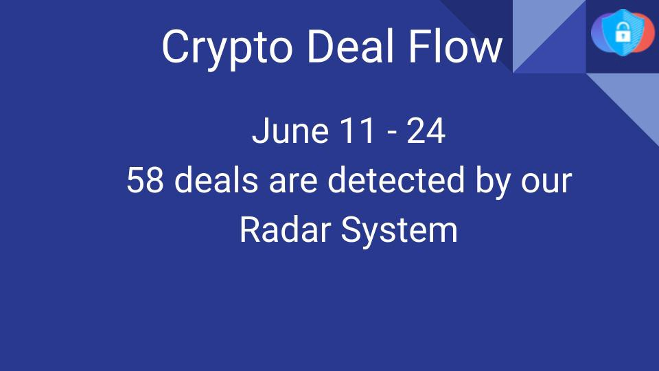 Crypto Deal Flow: June 11–24