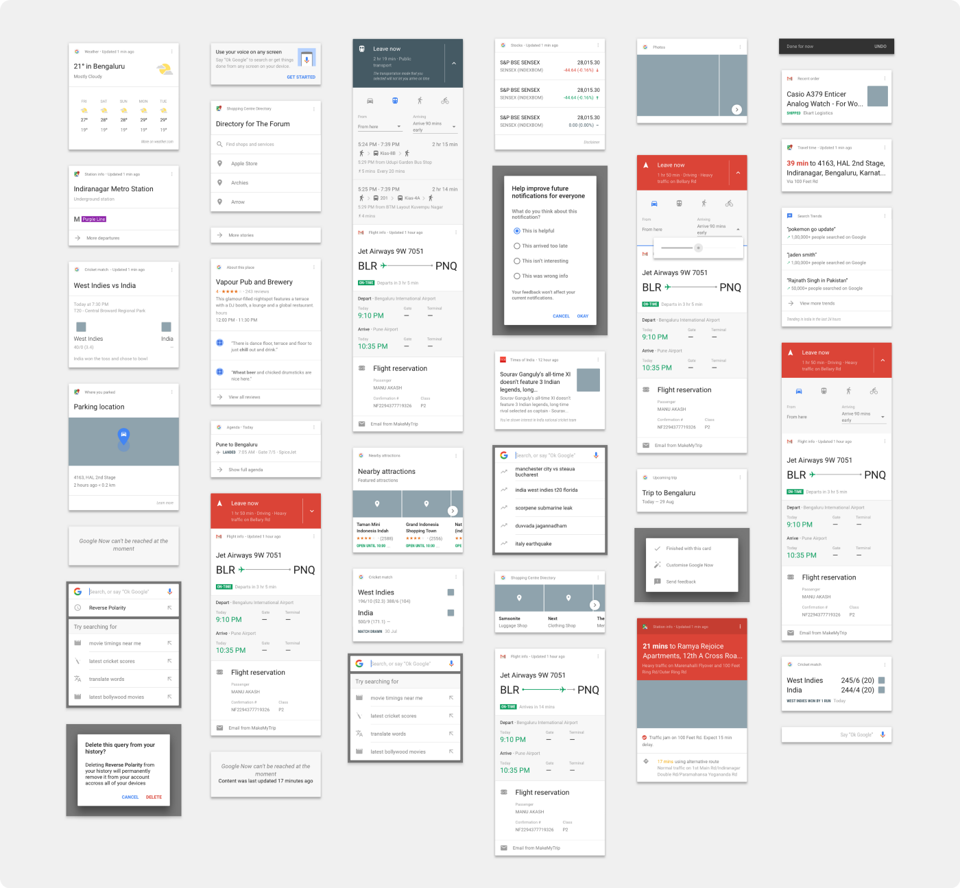 Not just boxes: card components in design systems - UX Collective