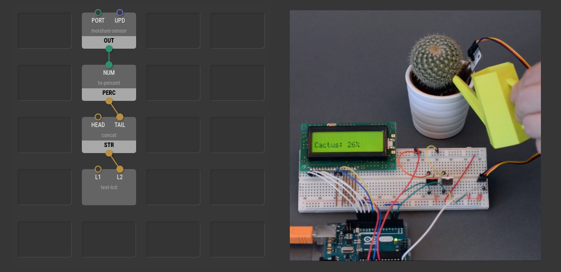 XOD — A New Visual Programming Language for Arduino