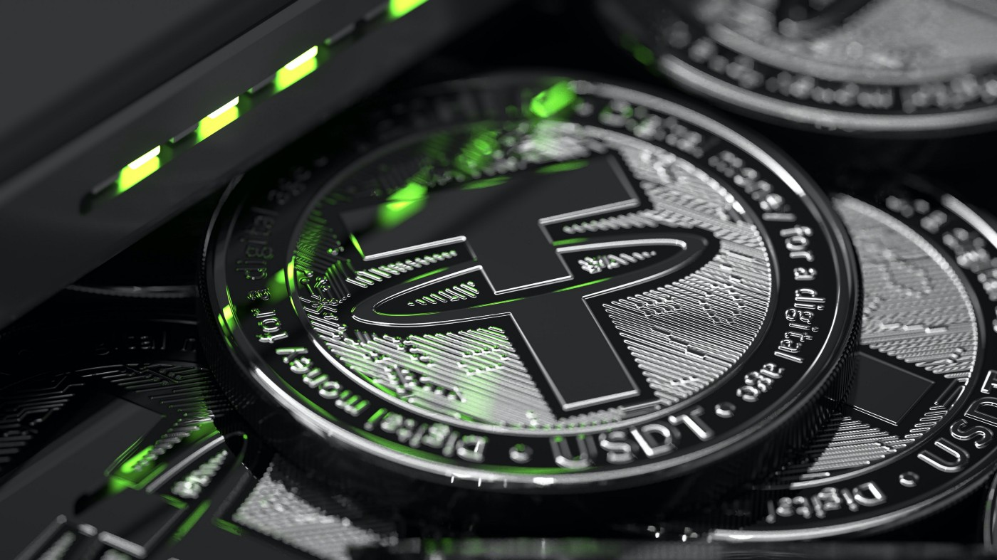 picture of a tether token