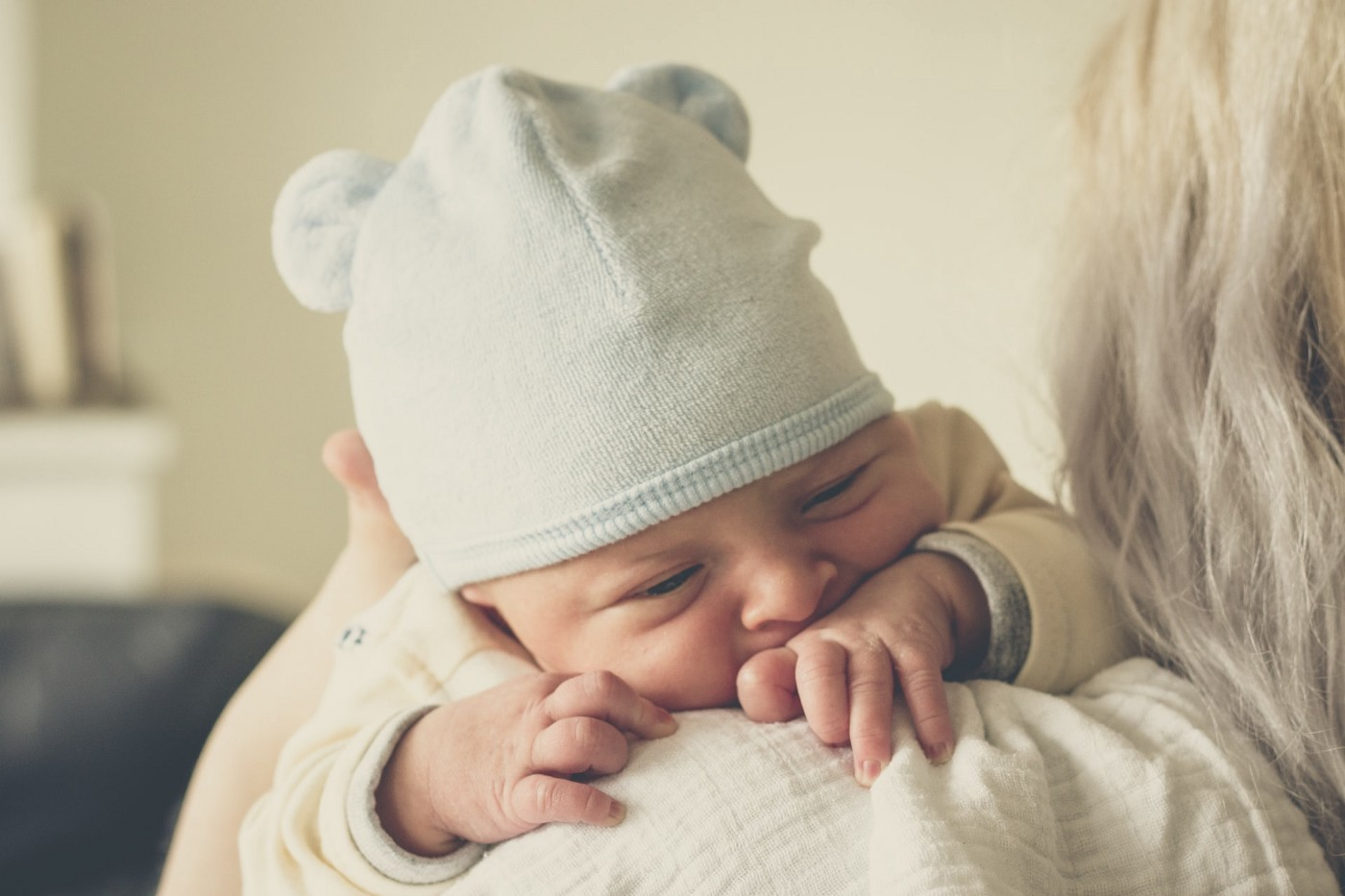 A picture showing a cute baby