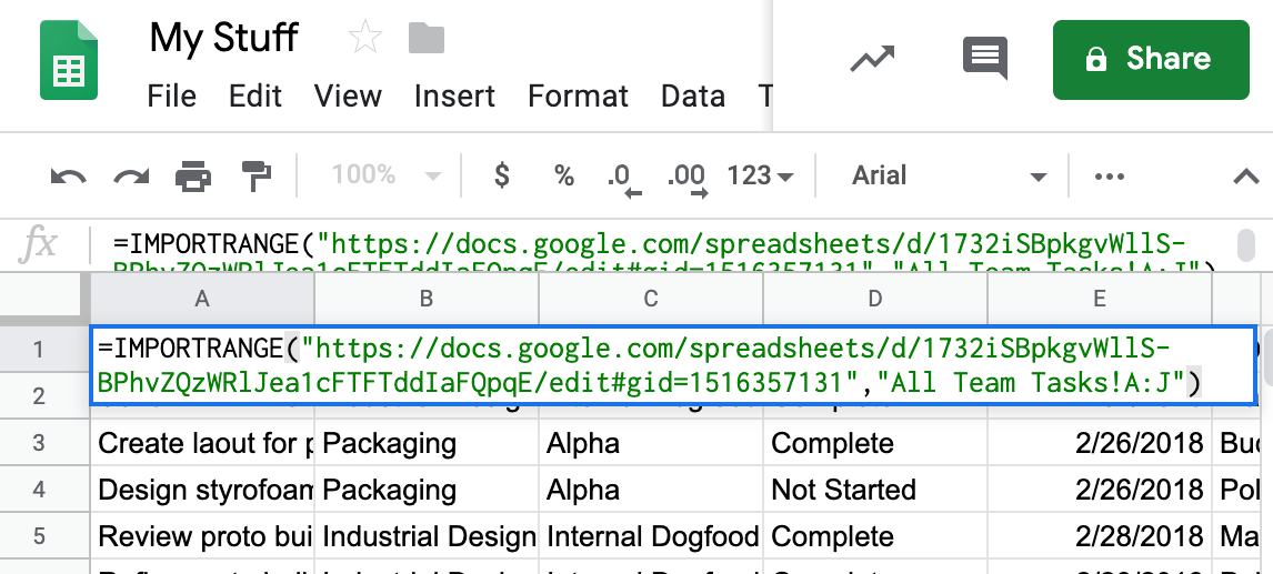 How to sync data between Coda docs (and Google Sheets) using Google
