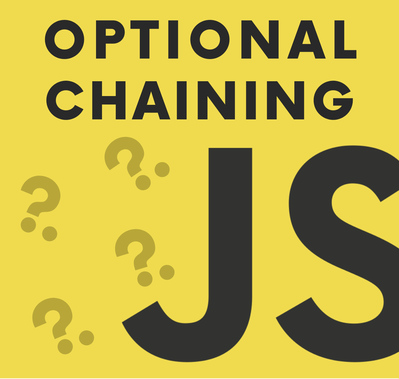 Optional Chaining in ES2020 (ES11) |@thawinwats