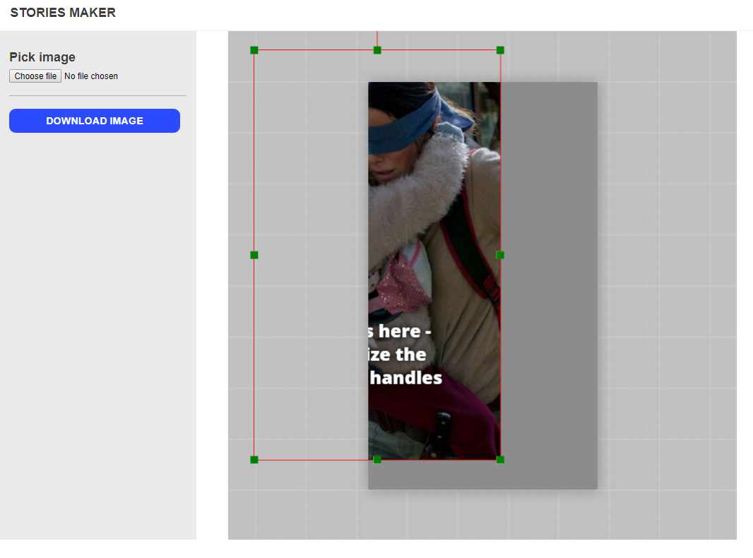Making an Instagram Stories graphic generator with fabric js — Part 1