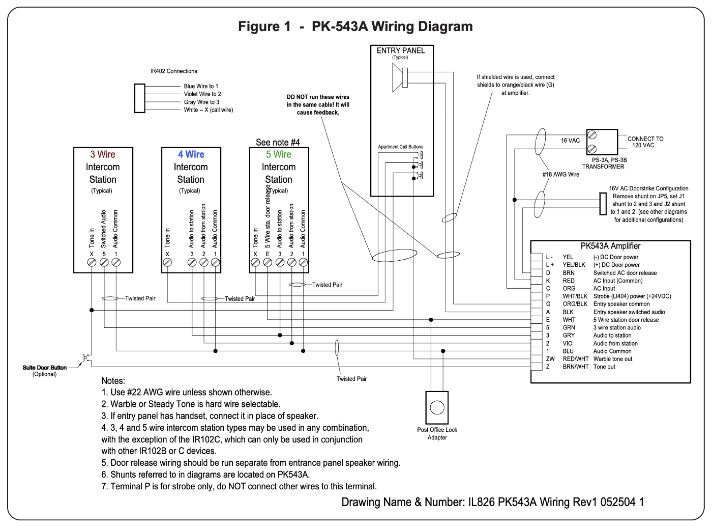 connecting an apartment door buzzer to a smarthome hub Aircraft Wiring Diagrams