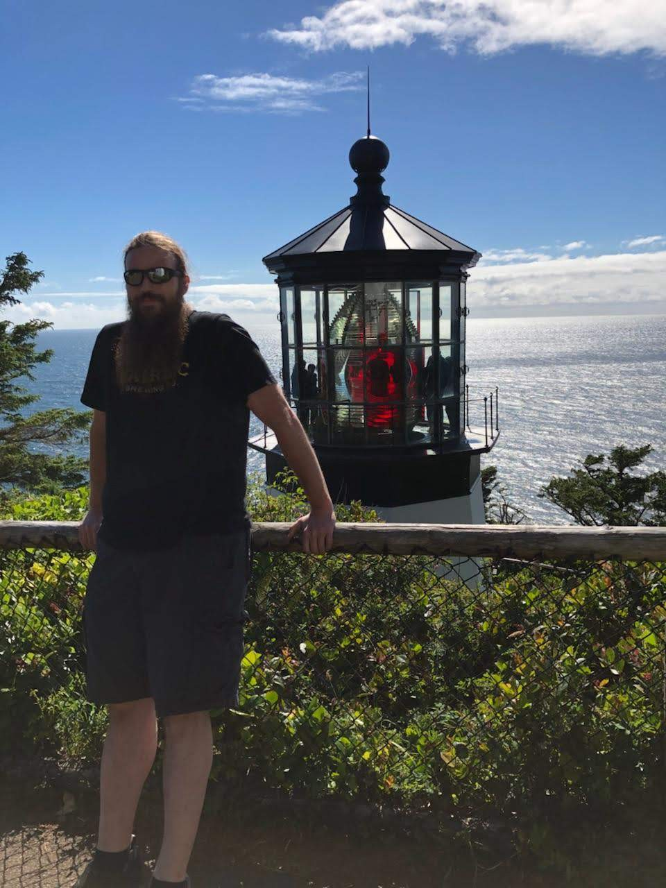 Me from a couple of years ago at Cape Meares Lighthouse in Oregon.