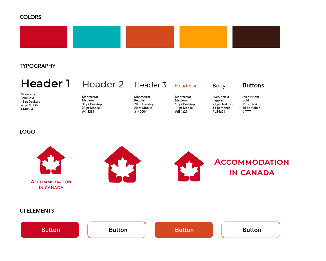Accommodation in Canada — A UX/UI Case Study - UX Planet