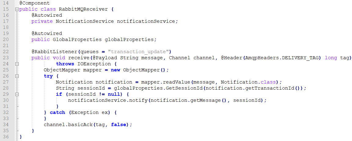 Sending Message to a specific session on Spring Websocket