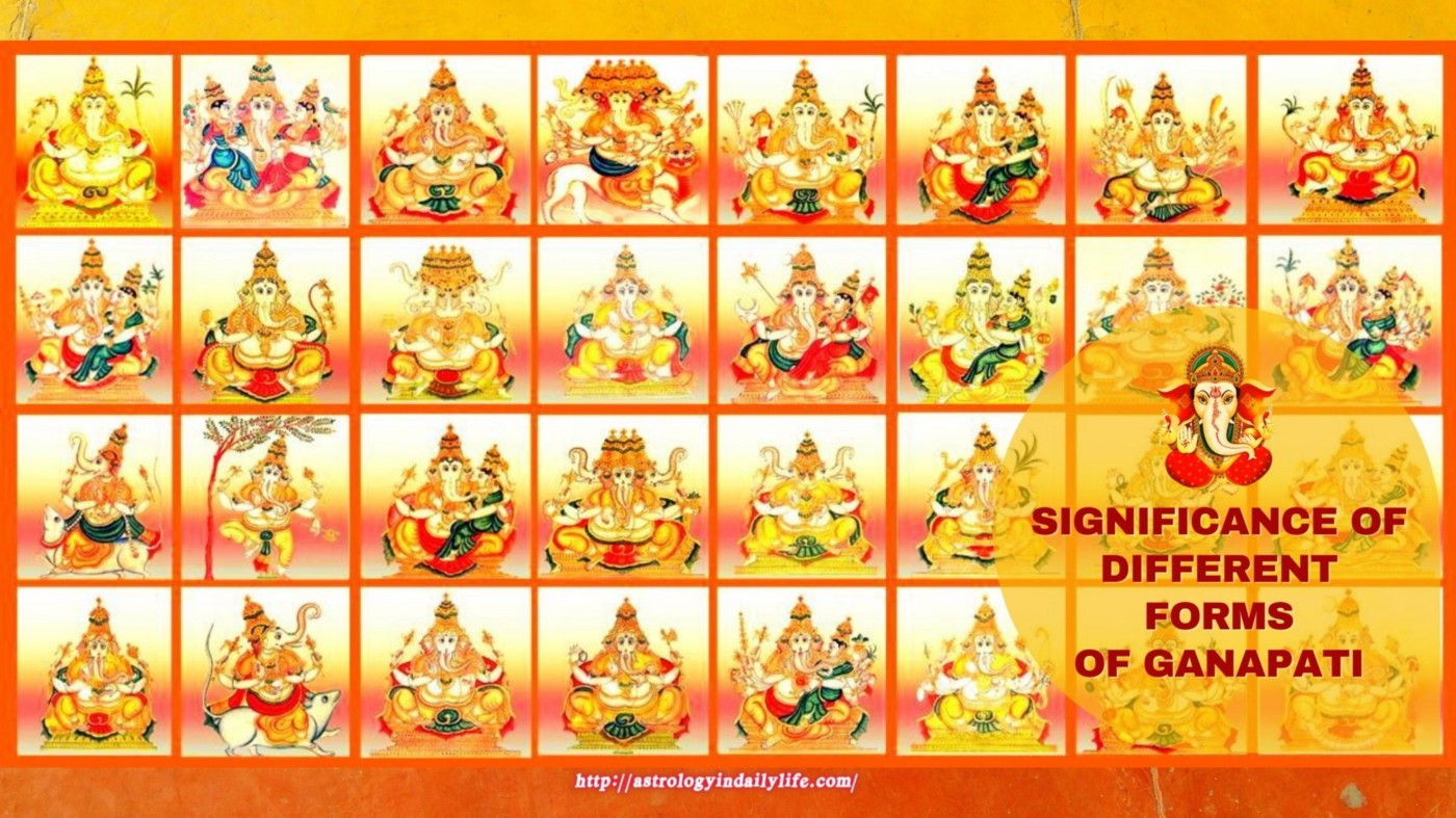 Ganesha is worshiped in different forms. Devotees have always expressed their love and reveranace for Ganesha in various forms, hues and expressions.
