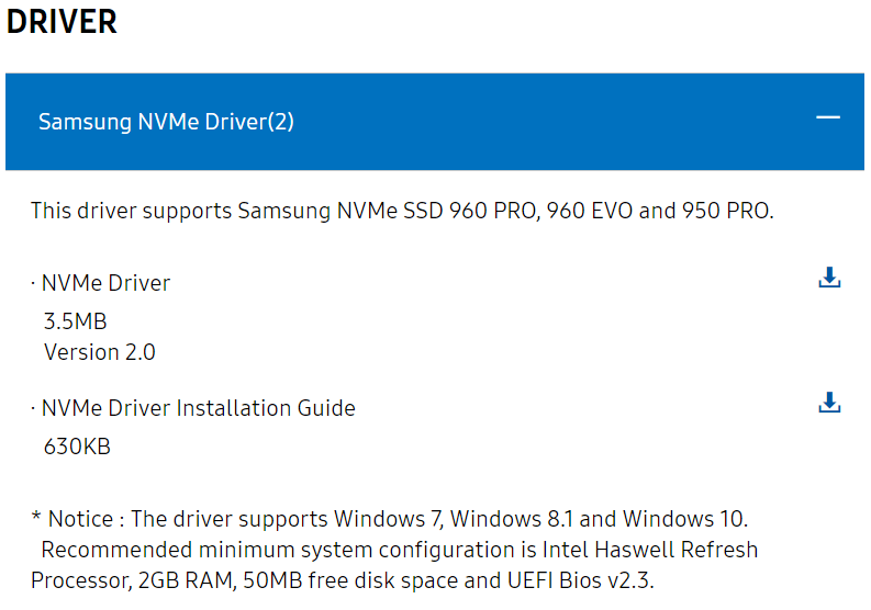 How to upgrade a Dell XPS 15 9550 to a Samsung 960 EVO NVMe M 2 SSD