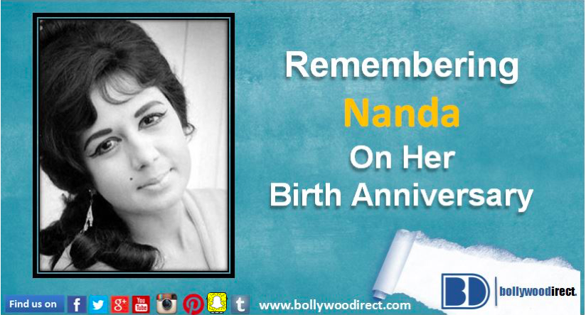 Remembering Nanda on her 78th birth anniversary  - Bollywoodirect