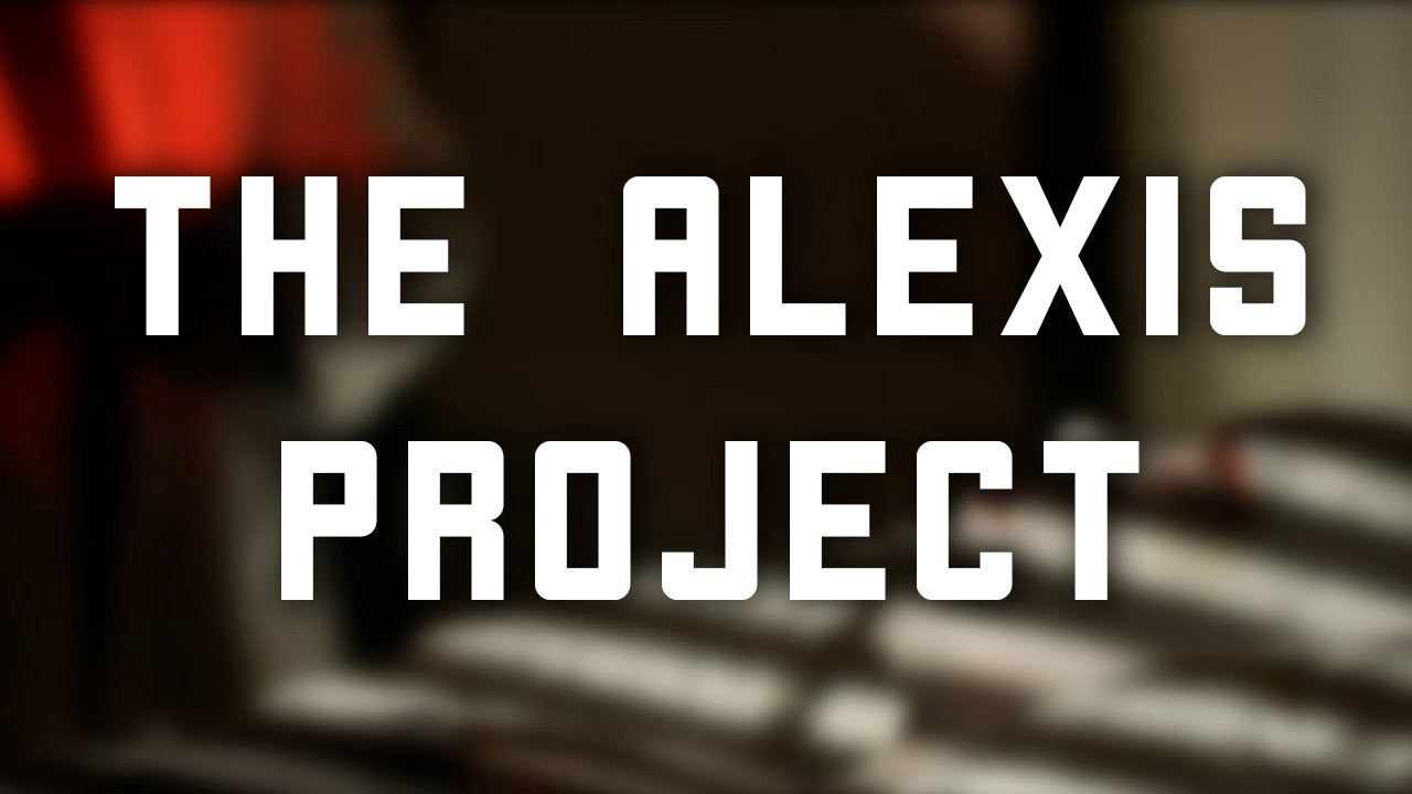 """""""The Alexis Project"""" YouTube Thumbnail."""
