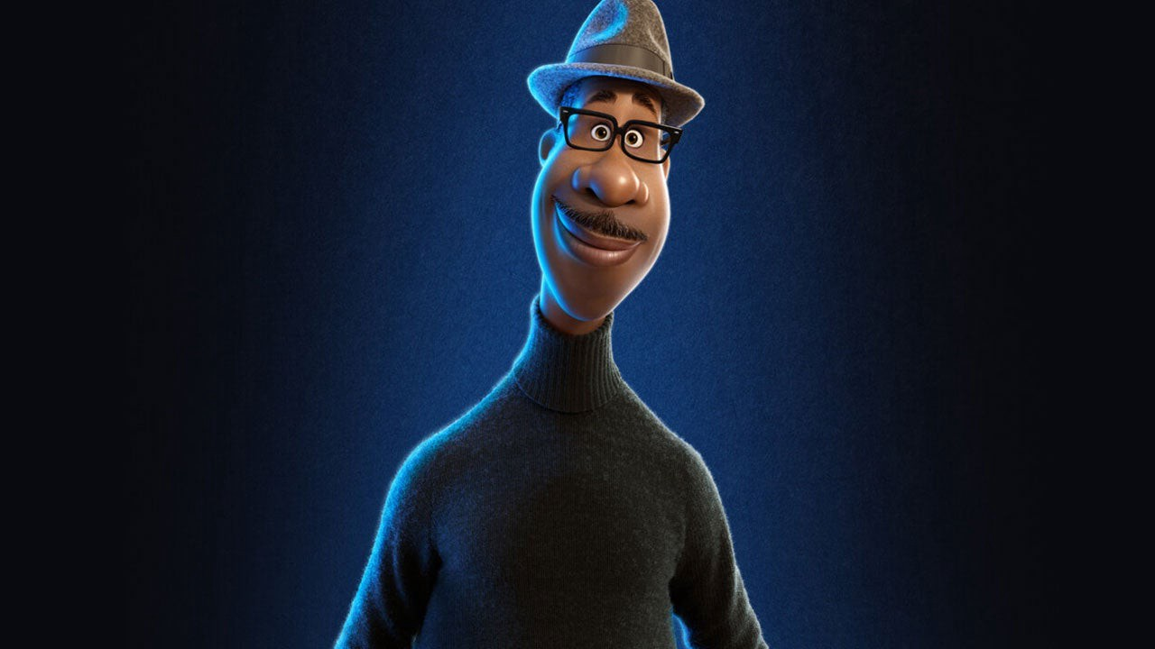 Animated Disney character in a grey hat and turtle neck.
