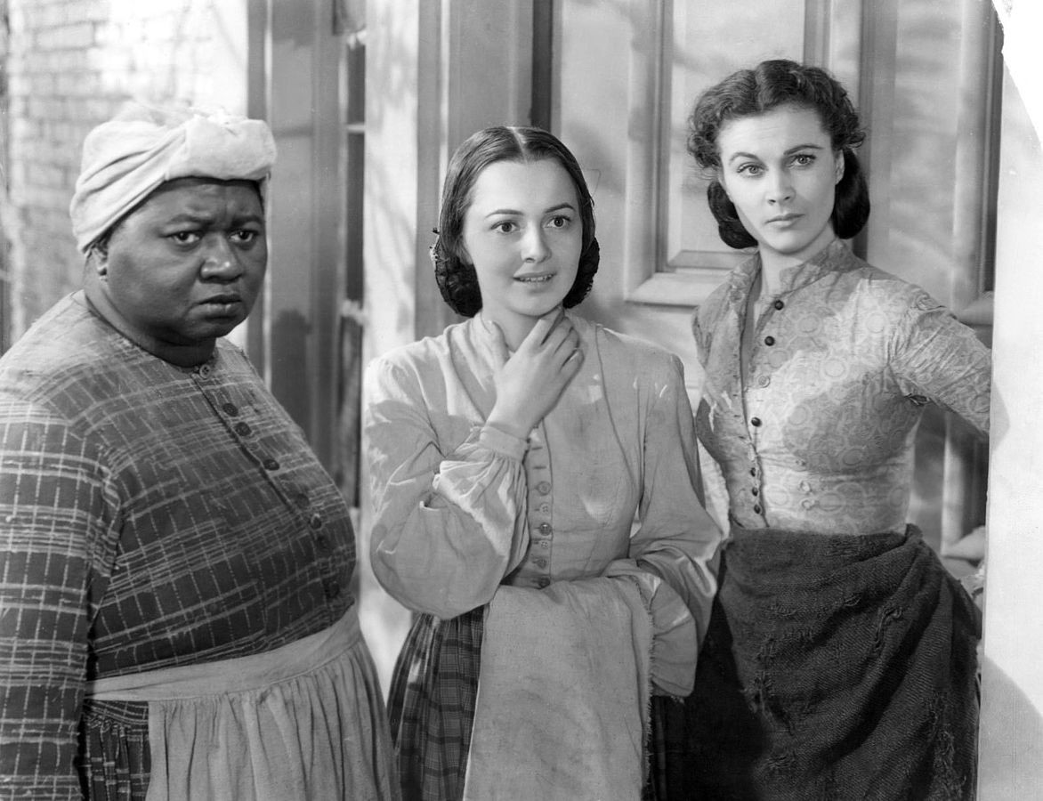 Image of Hattie McDaniel with her Gone With The Wind costars