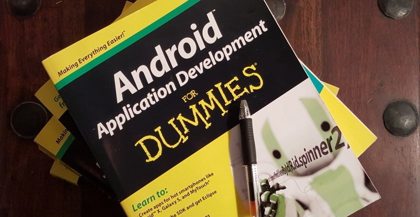 Android Application Development All-in-One For Dummies—book for those who want to learn android programming