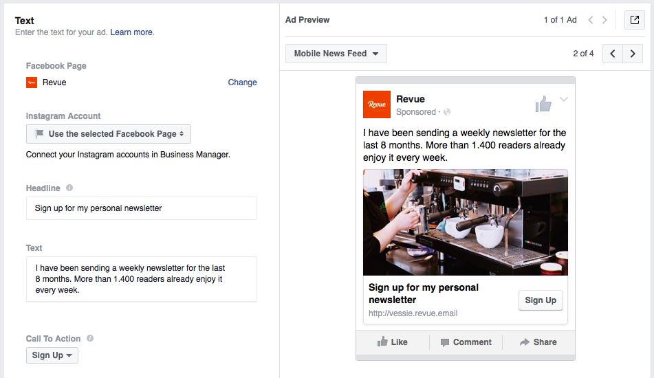 How to get more subscribers by using Facebook Lead Ads