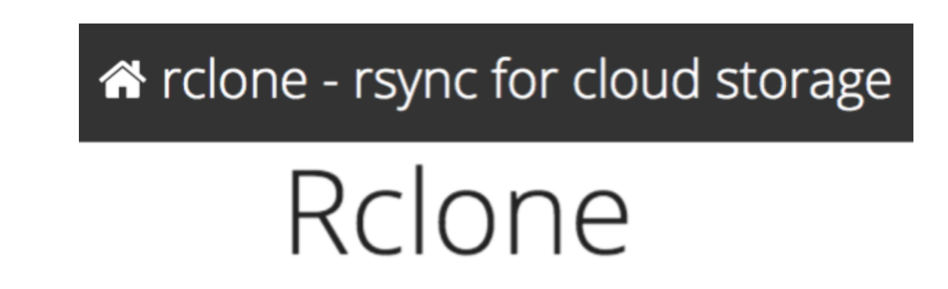 rclone : How to copy files from a server's filesystem to Google Drive