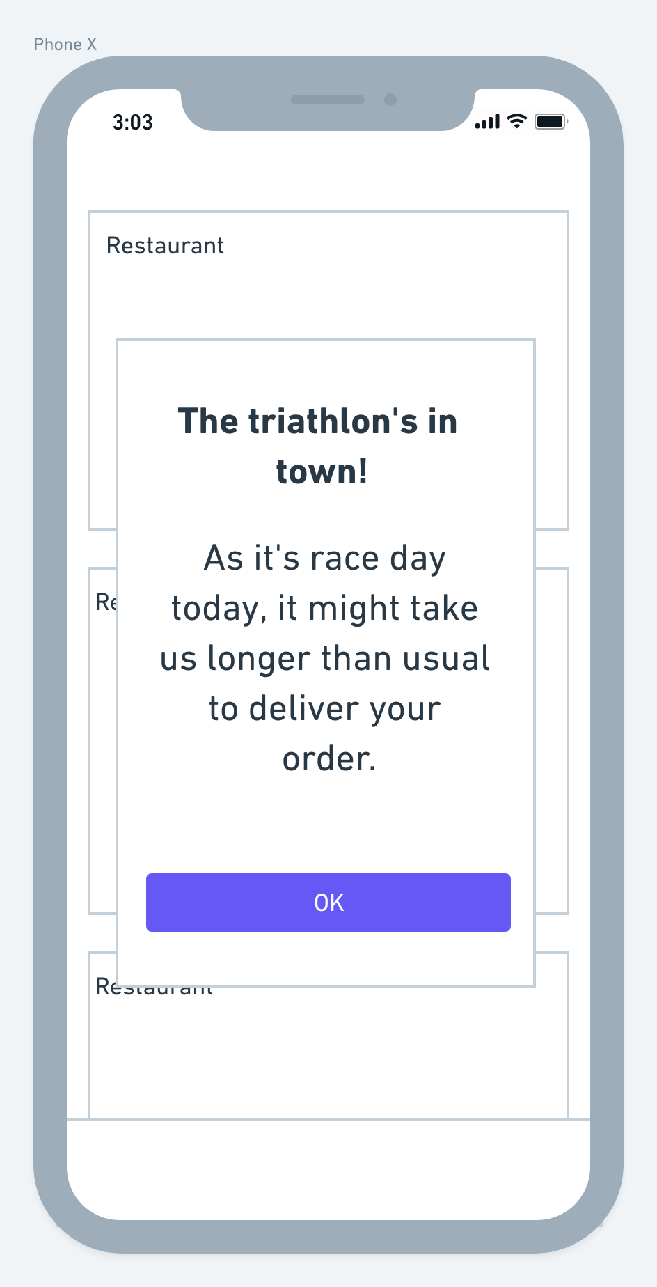 Content design: How to write any error message - Deliveroo Design