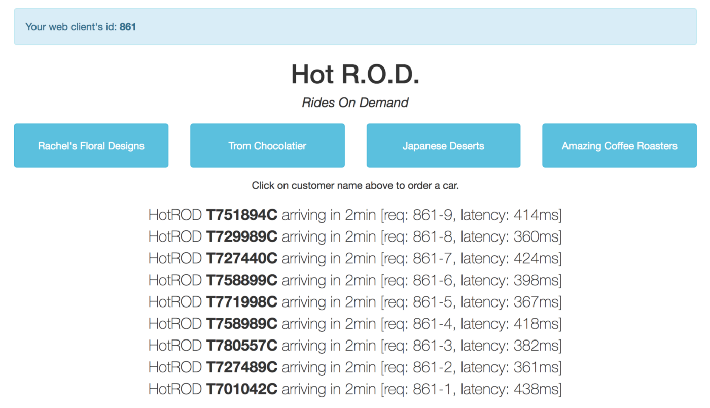 Take OpenTracing for a HotROD ride - OpenTracing - Medium