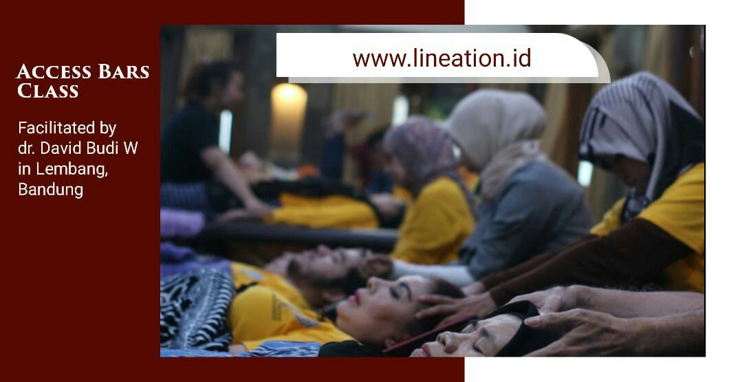 Access Bars facilitated by dr. Dave, in Bandung, Indonesia