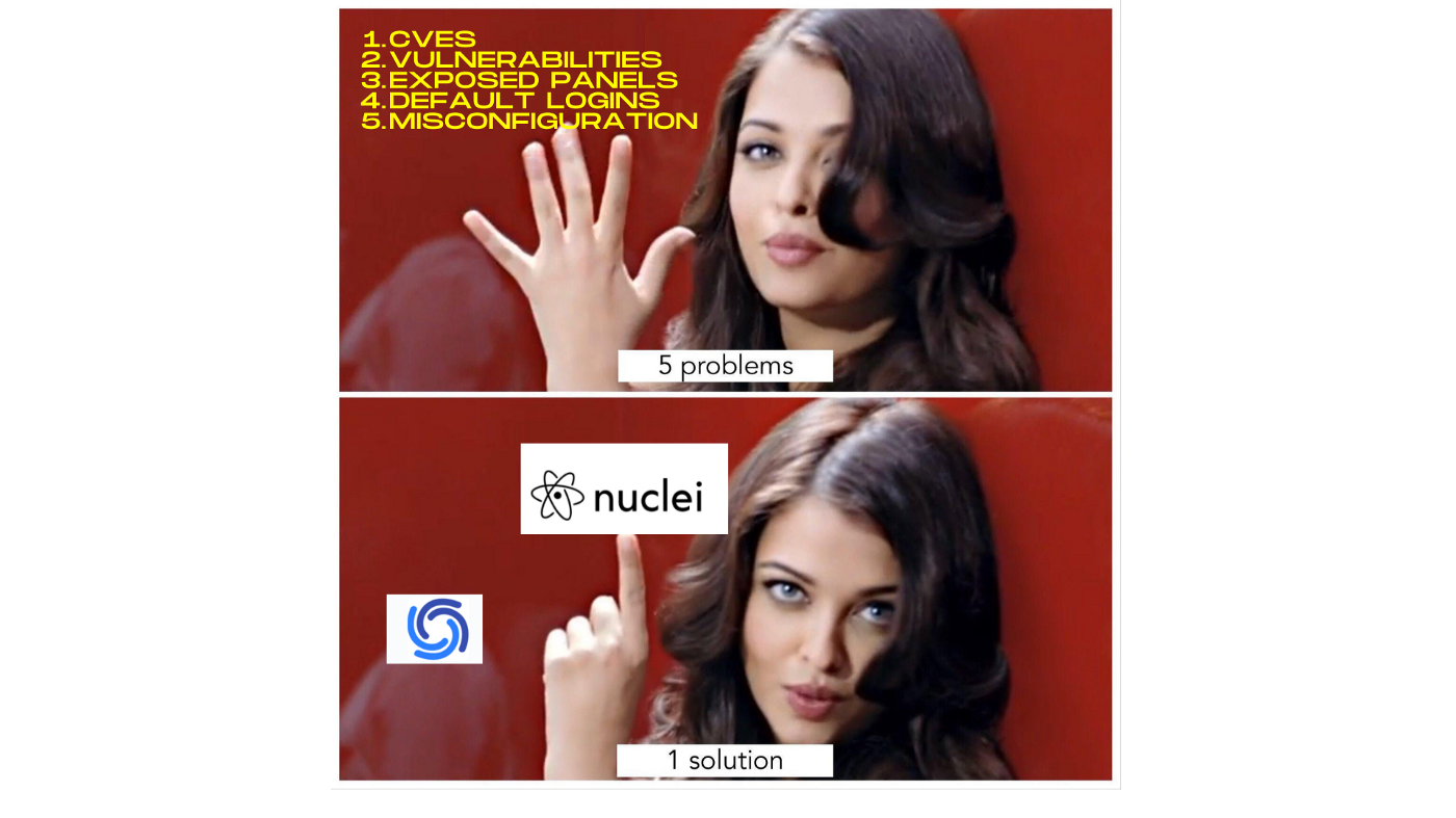ProjectDiscovery/Nuclei Meme
