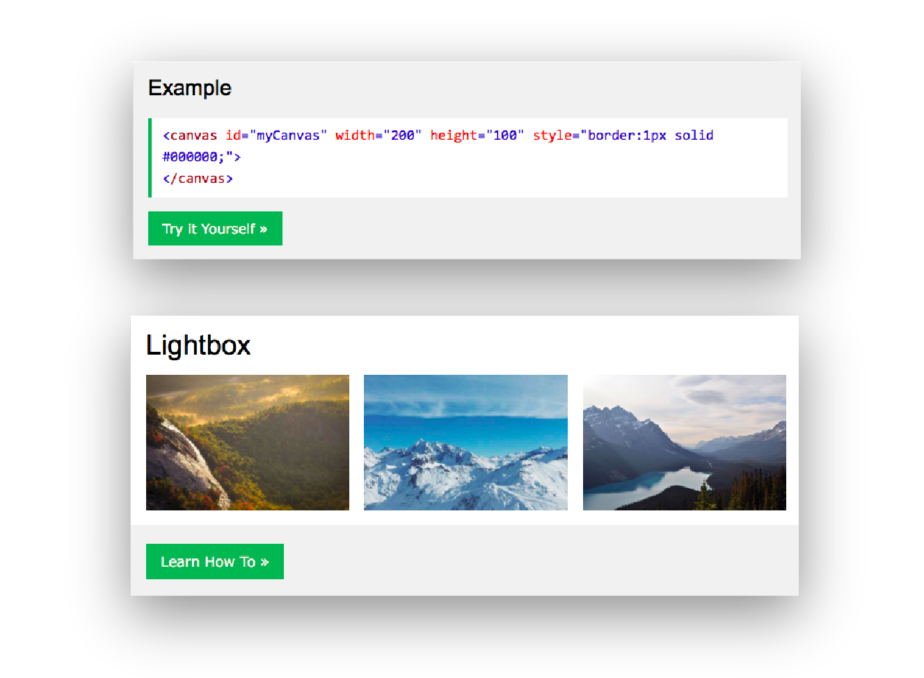 Design Patterns and Task Flows in W3Schools - Prototypr