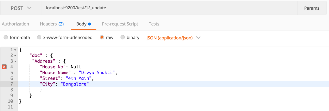 Elasticsearch Update By Query Nested Field