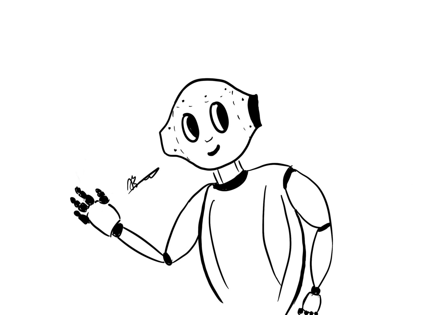 Illustration of a Personal Assistant Robot