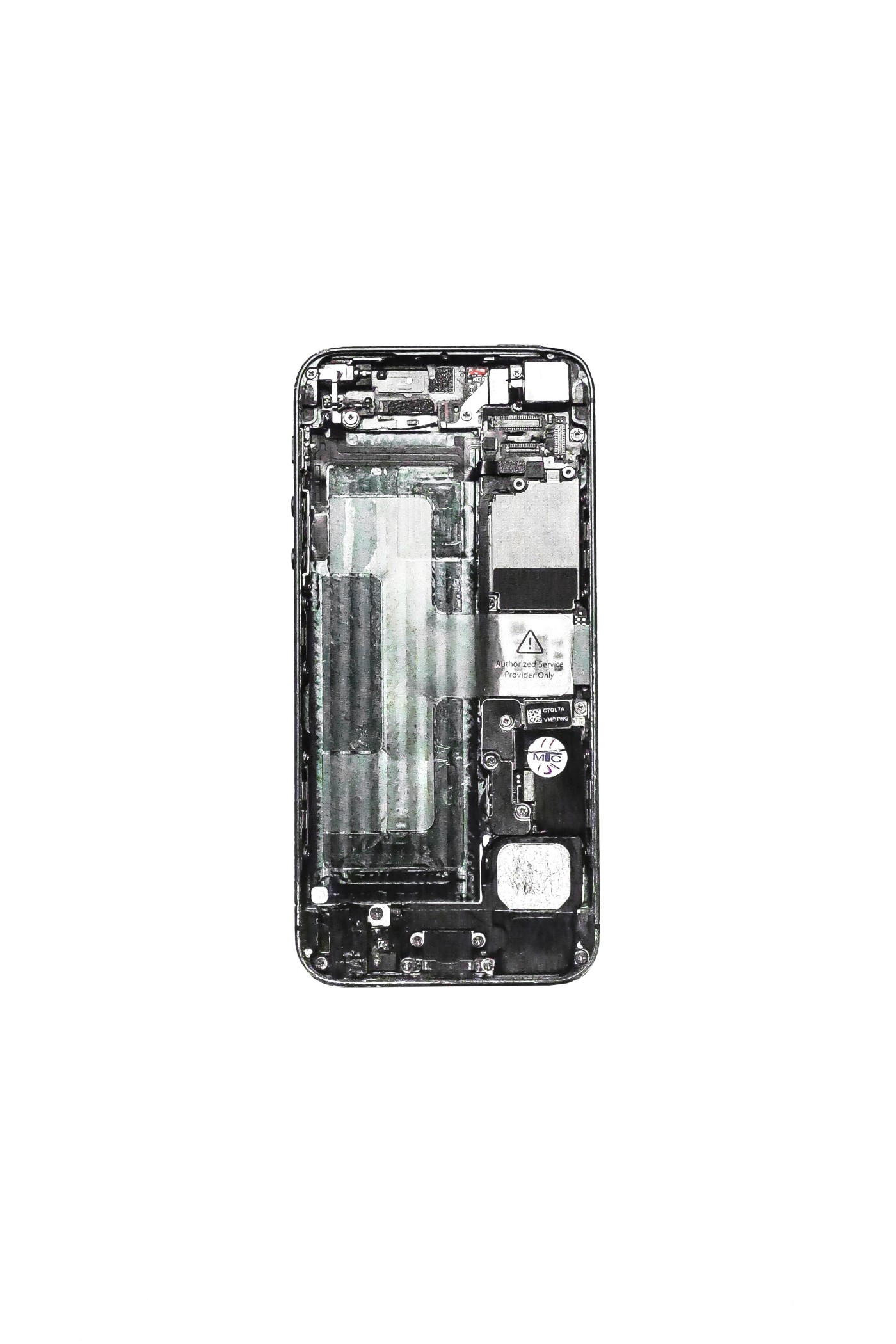 Iphone,Back of an Iphone,pieces,hardware,phone hardware
