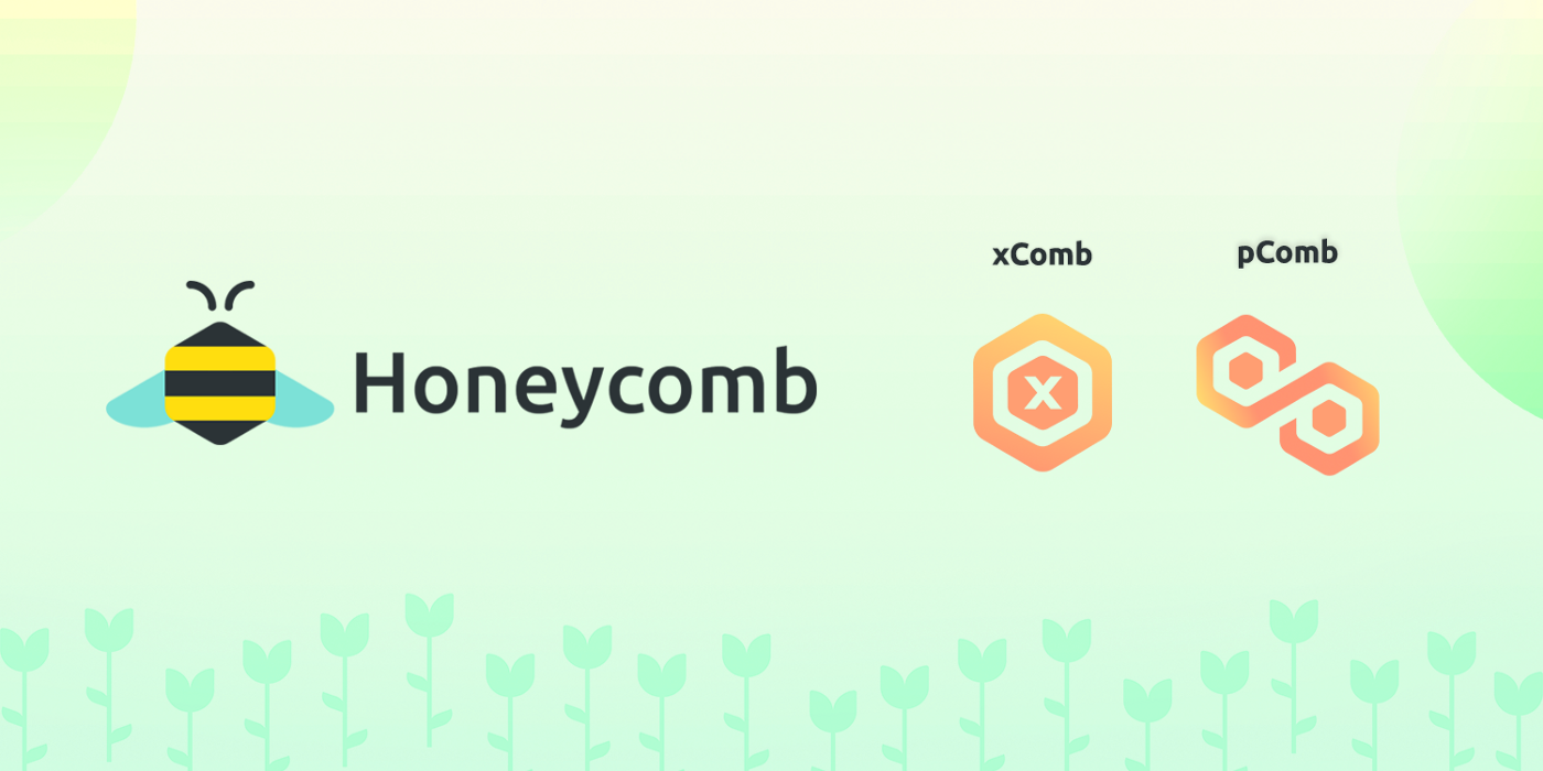 1Hive Honeycomb banner showcasing the upcoming xComb and pComb token