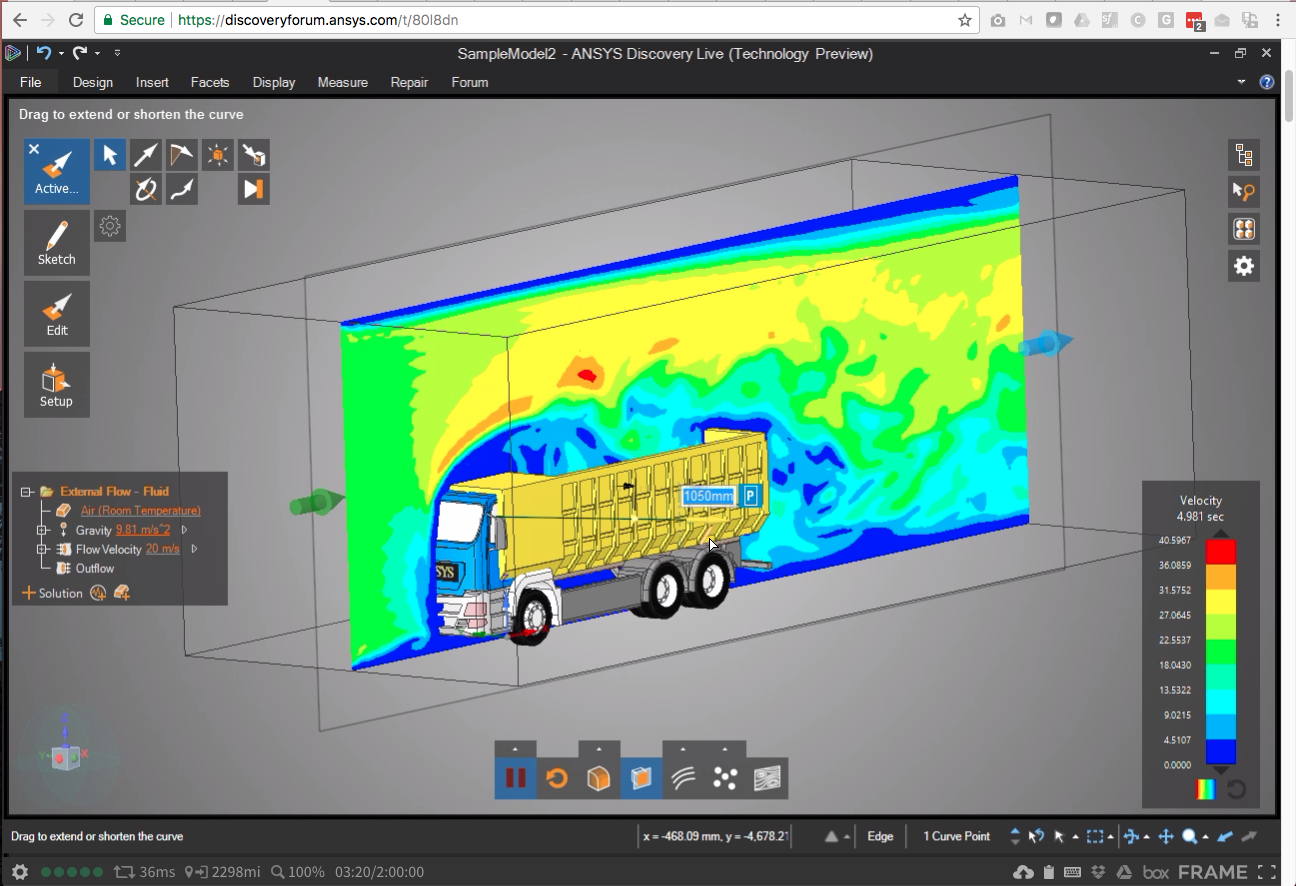 ANSYS Discovery Live blows my mind - Speaking of the Cloud…