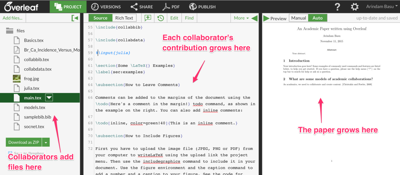 How to use Overleaf for collaborative Academic Writing — Part II