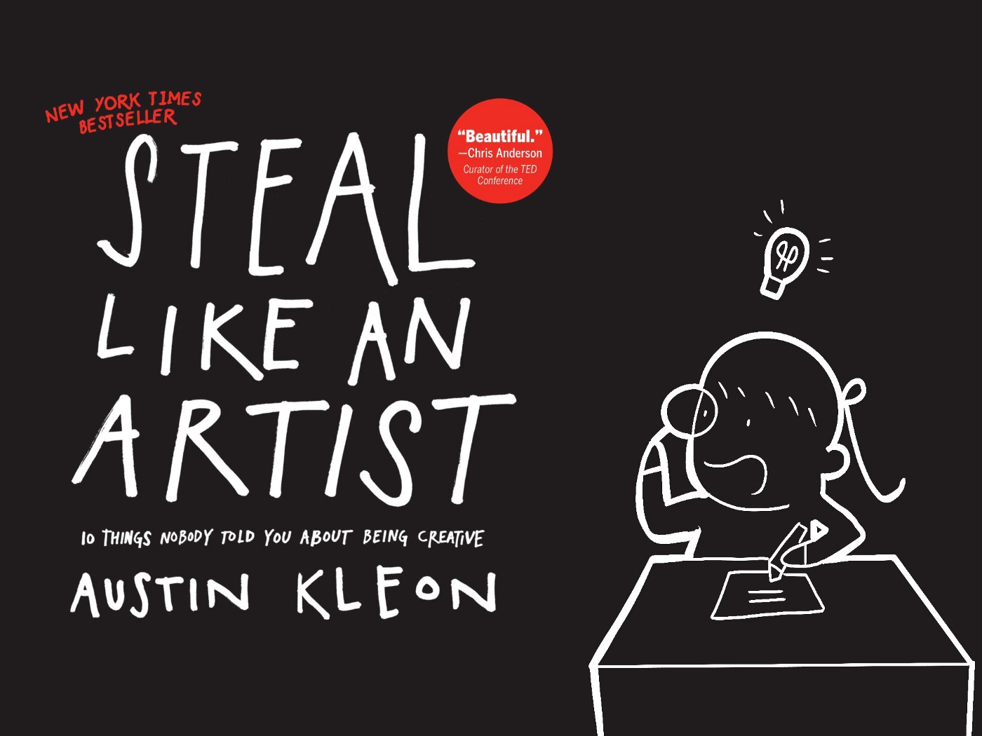 The cover of Steal Like an Artist