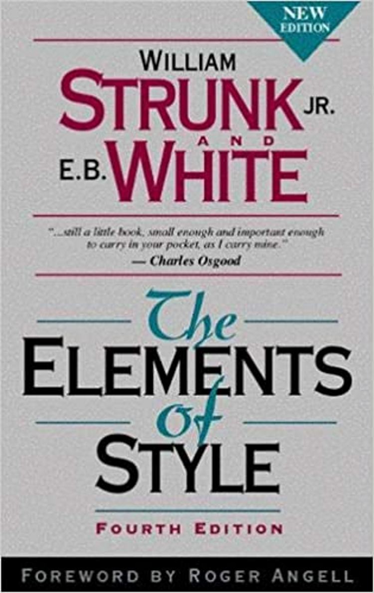 """Picture of the book, """"The Elements of Style."""""""