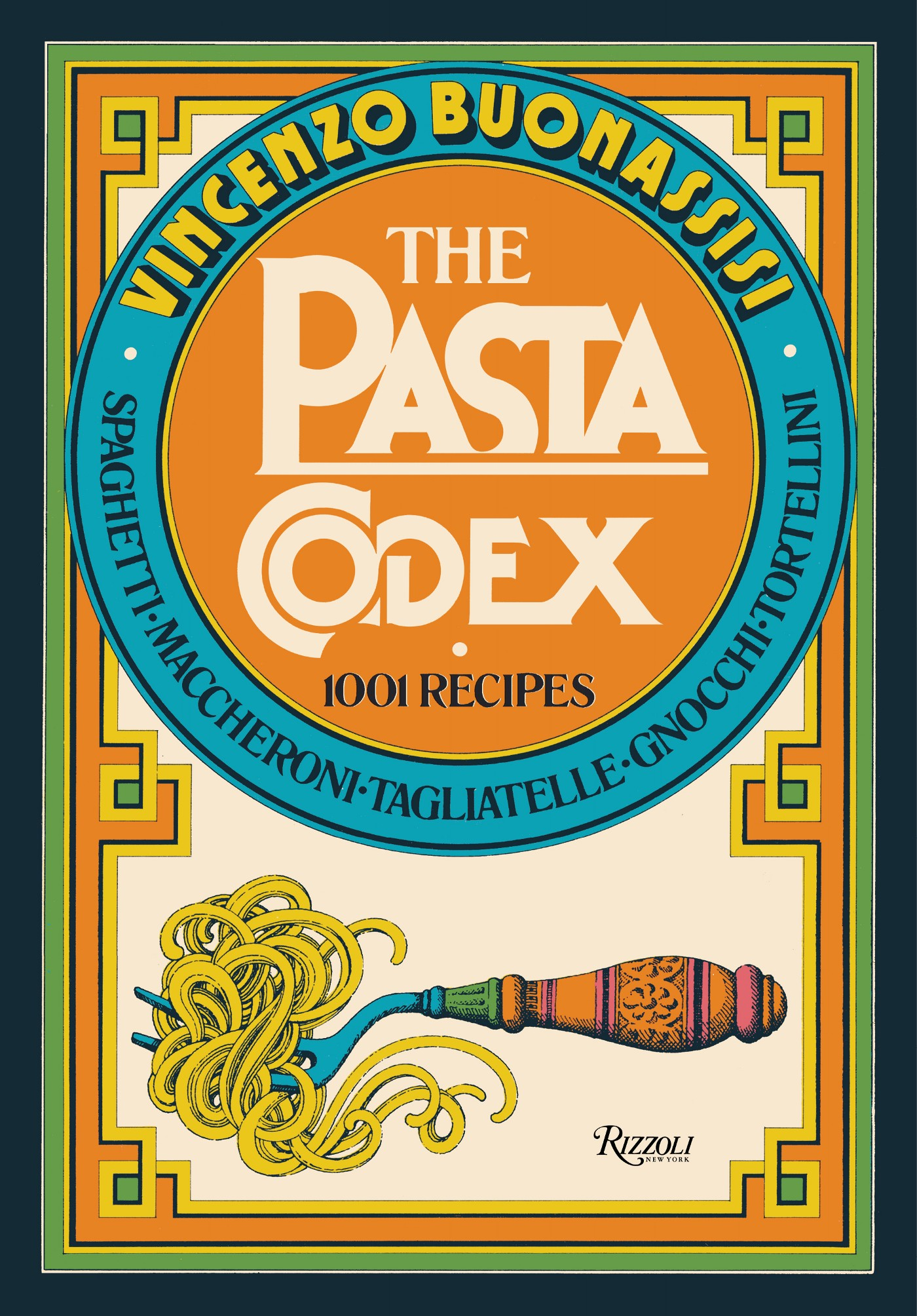 The cover of The Pasta Codex