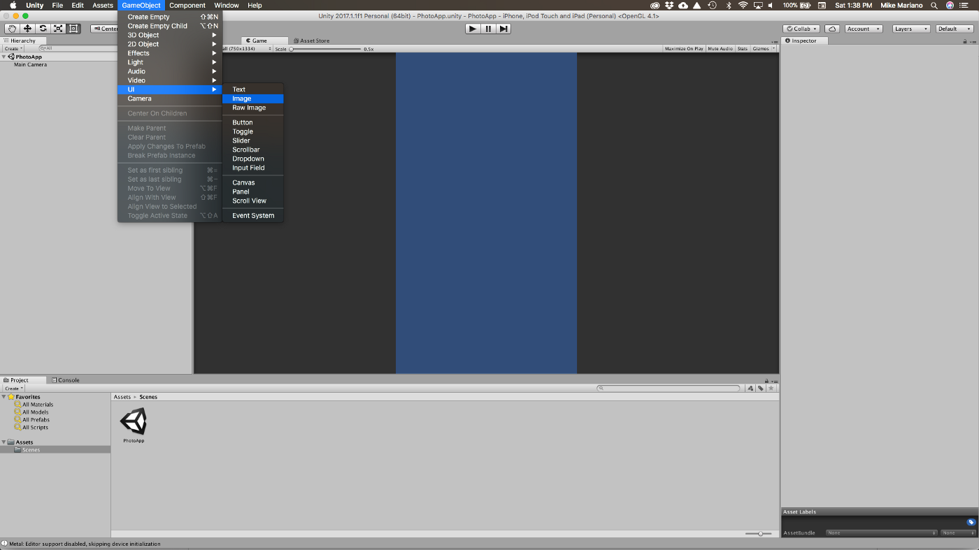 Prototyping UI in Unity Part 3 — Introduction to UI Components