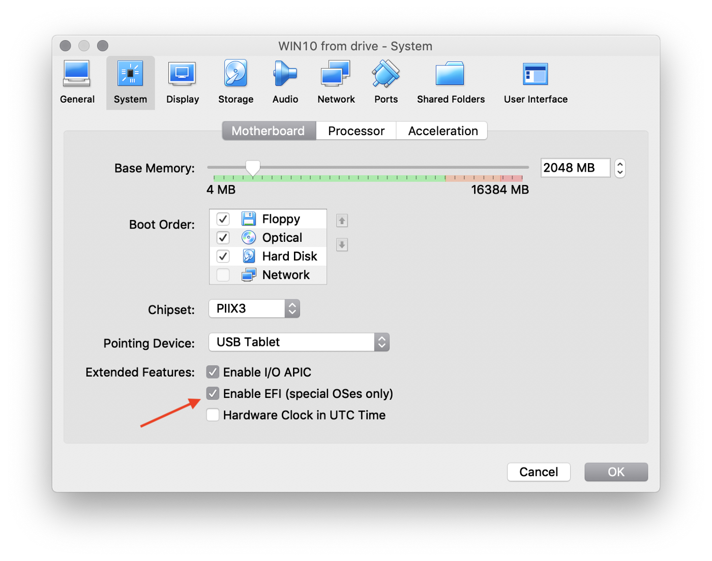Install Windows on the external SSD/HDD for your Mac