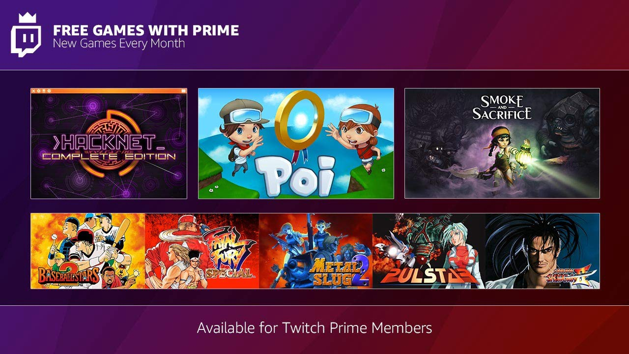 Announcing December's Free Games with Prime - Twitch Blog