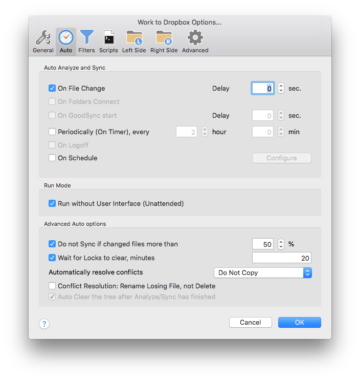 Solving painful syncing of node_modules when using Dropbox (or