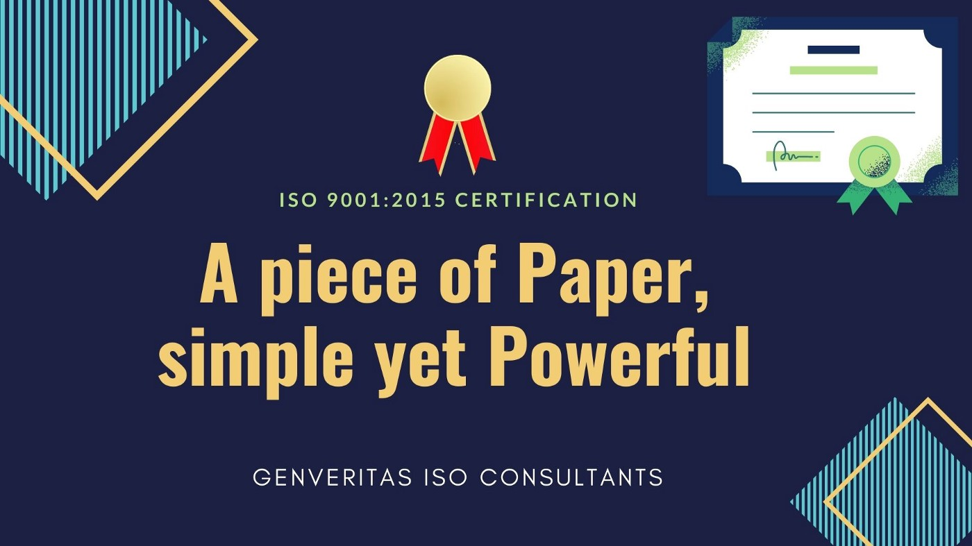 ISO Certification Services Genveritas