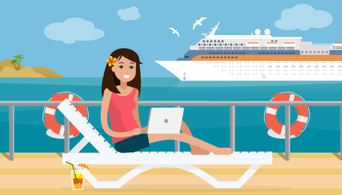 How to Survive When You Have to Work On Vacation | by ...