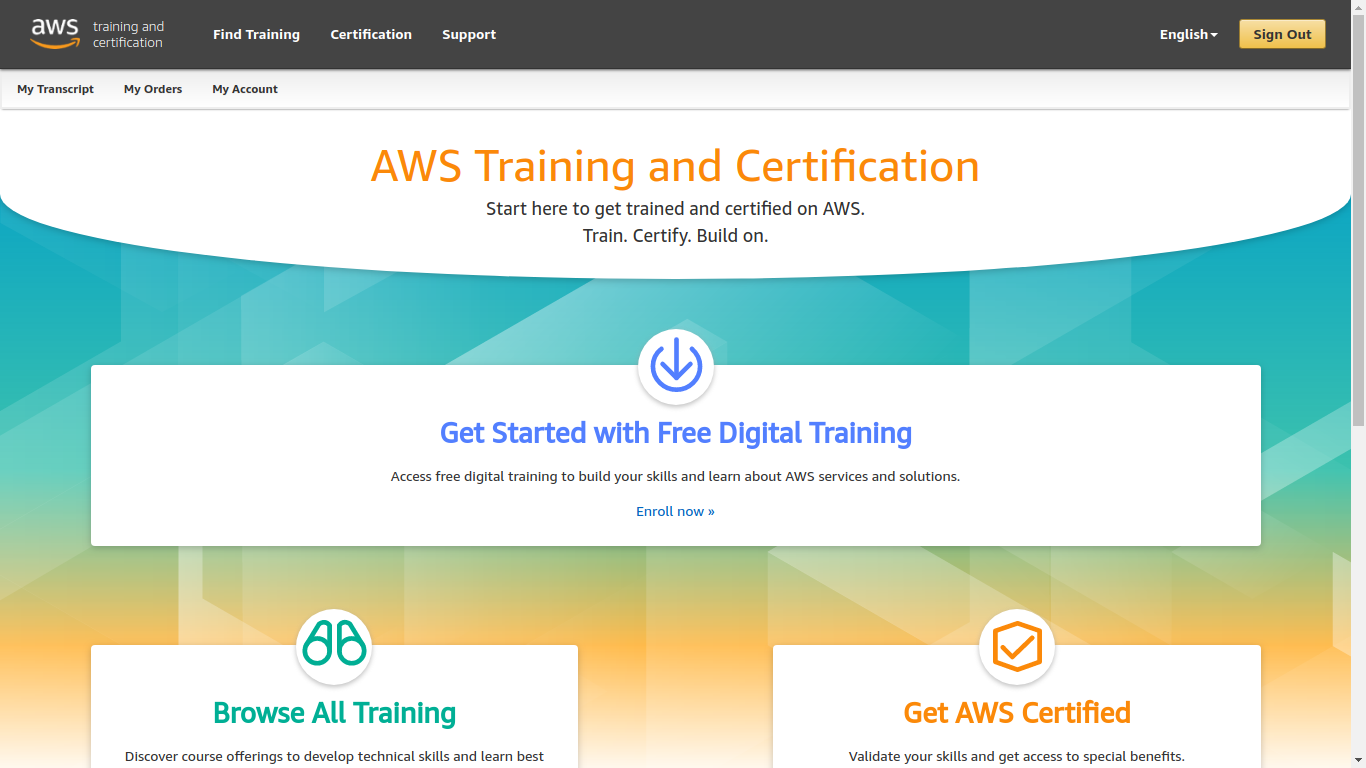 How Amazon AWS Training and Certification Portal deletes Your exams