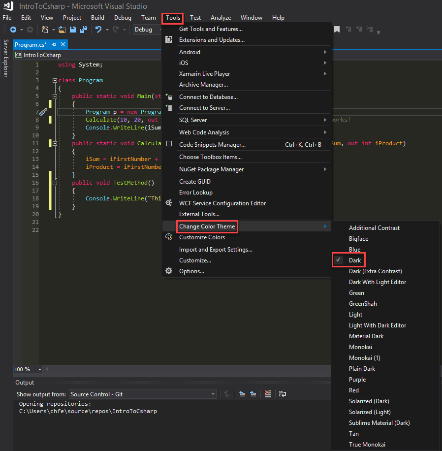 How To Add Awesome Monokai Colors For Beautiful C# Development in