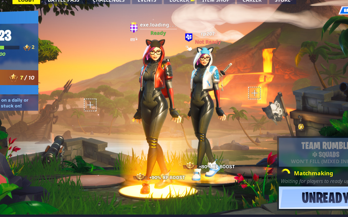 The author and Operating Partner of Bionic Ventures playing Fortnite together. #squadgoals
