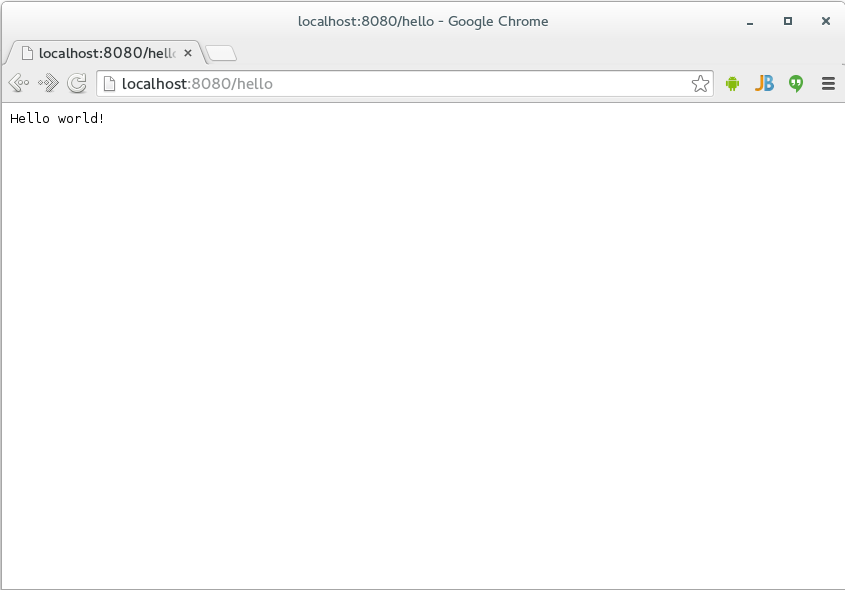 Starting out with Jersey & Apache Tomcat using IntelliJ