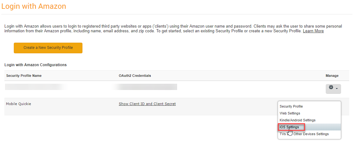 Add Login with Amazon for iOS - ITNEXT