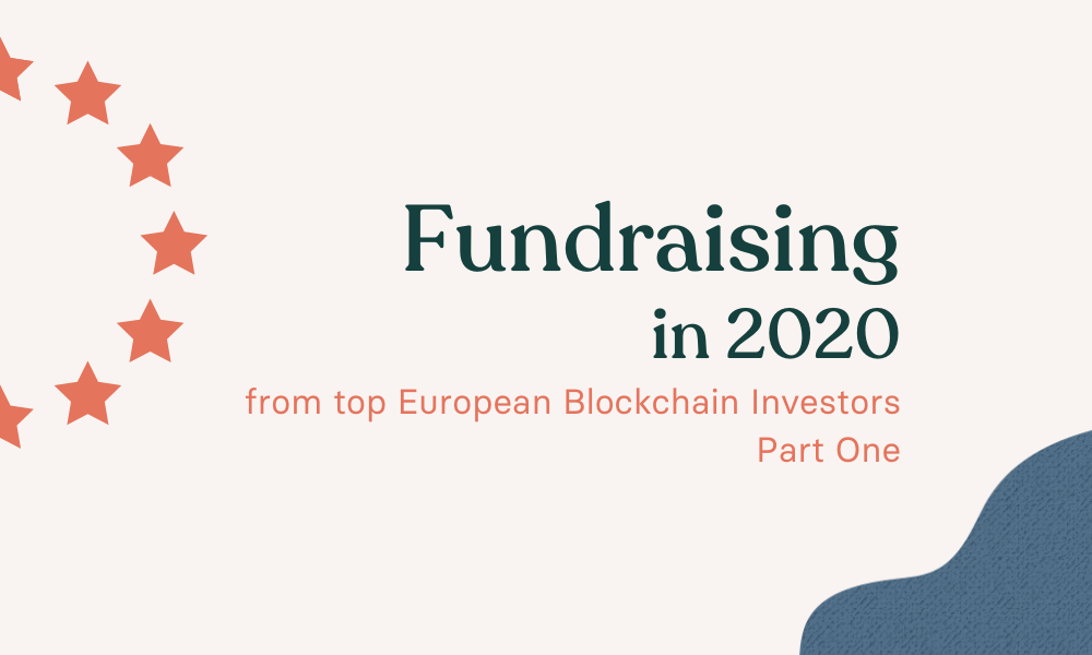 Fundraising in 2020 with EU stars partially in the image
