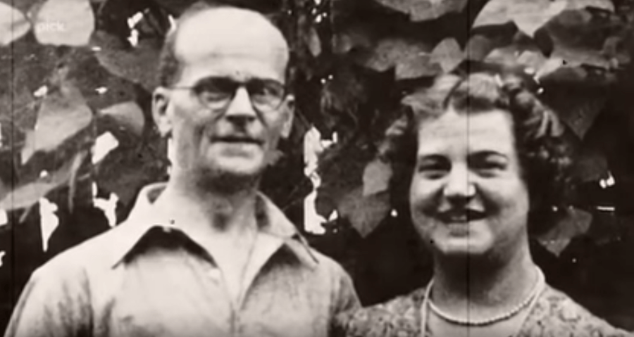 John Christie and his wife Ethel